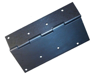 Galvanized Flat / Center hinge for pallet collars